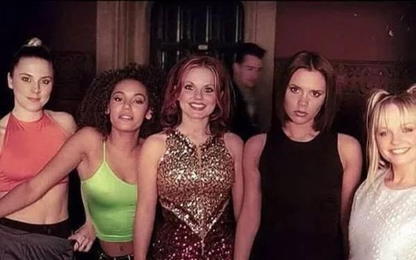 Spice Girls - gravação do clipe Wannabe