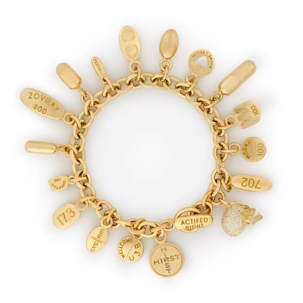 Bracelete Damien Hirst
