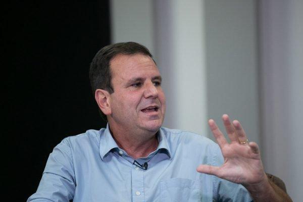 Eduardo Paes conversa com Raquel Sheherazade para o Metrópoles