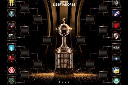 Confrontos das oitavas de final da Copa Libertadores 2020