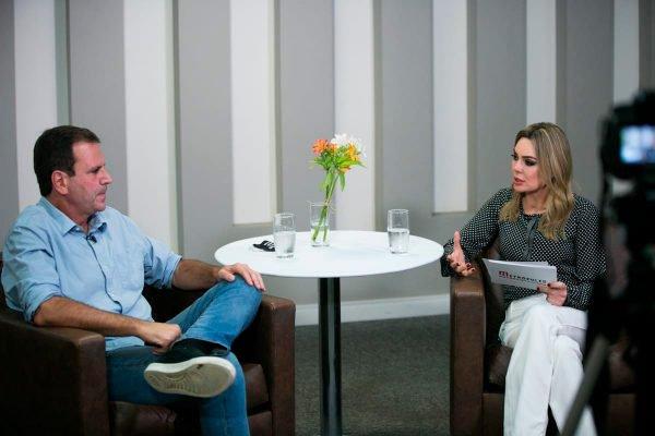 Rachel Sheherazade entrevista Eduardo Paes