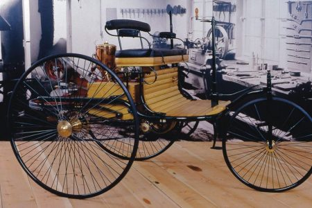 Benz tricycle 1886