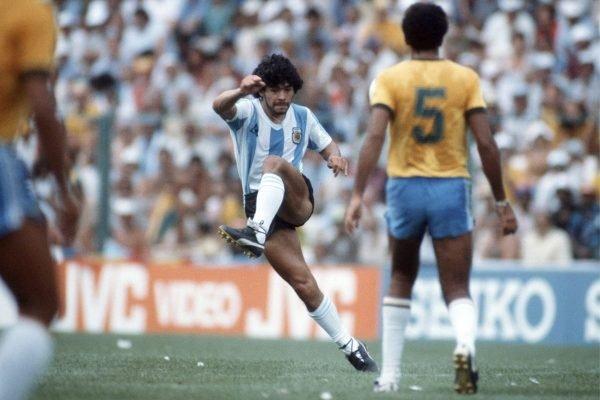 Maradona Seleção Brasileira
