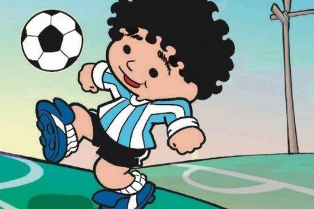 Mauricio de Souza desenha Maradona