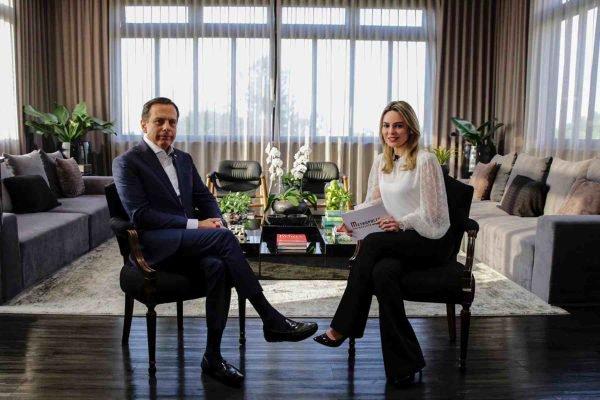Rachel Sheherazade entrevista João Doria