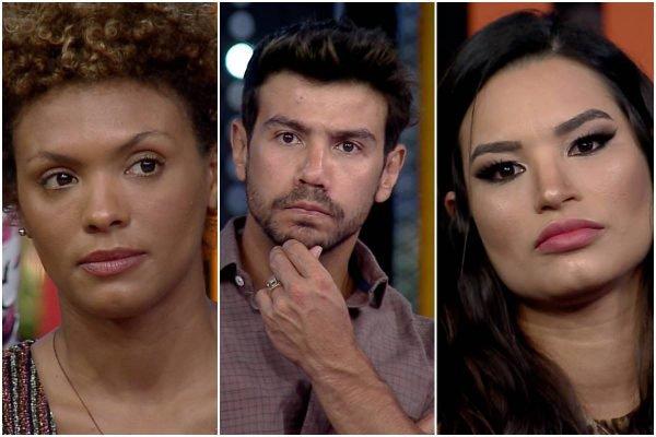 Lidi Lisboa, Mariano e Raíssa Barbosa em A Fazenda 12