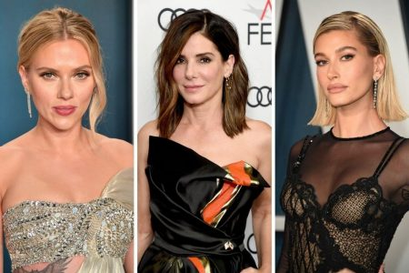Scarlett Johansson, Sandra Bullock e Hailey Bieber