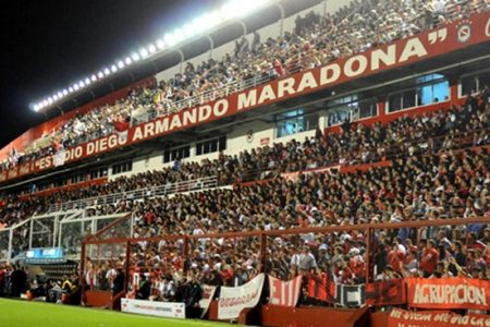 estádio na argentina