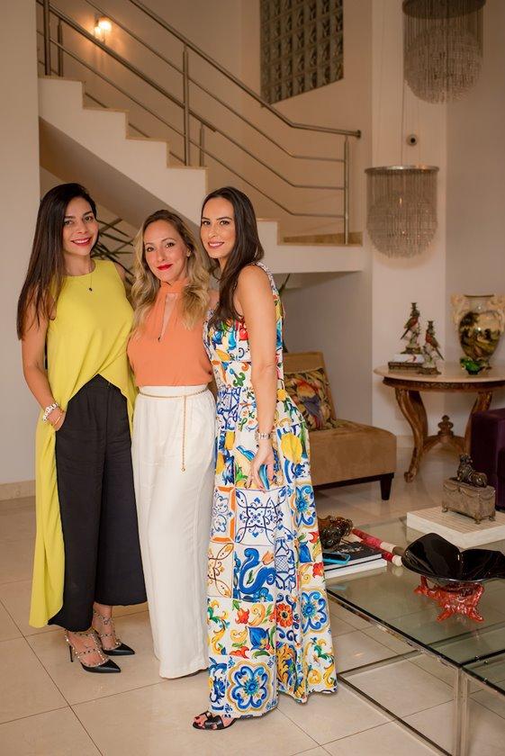 Priscila Antunes, Karen Luna e Kheli Abreu