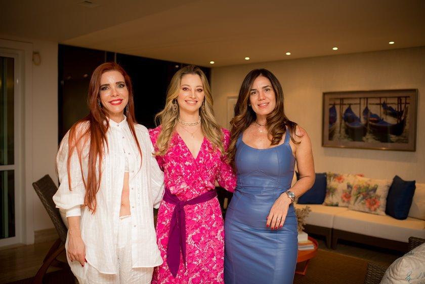Mima Marys, Carol Kalil e Jade Palma Rodopoulos