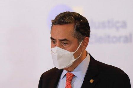 coletiva de imprensa e epuracao dos votos no TSE com o ministro Luiz Roberto Barroso 7