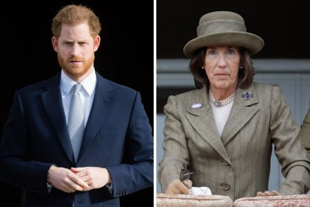 Príncipe Harry e Lady Celia Vestey