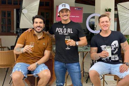 Renato Sertanejeiro com a dupla George Henrique & Rodrigo