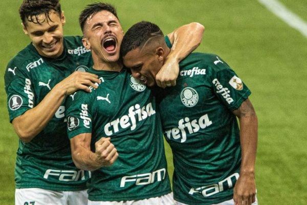 Palmeiras avança na Libertadores