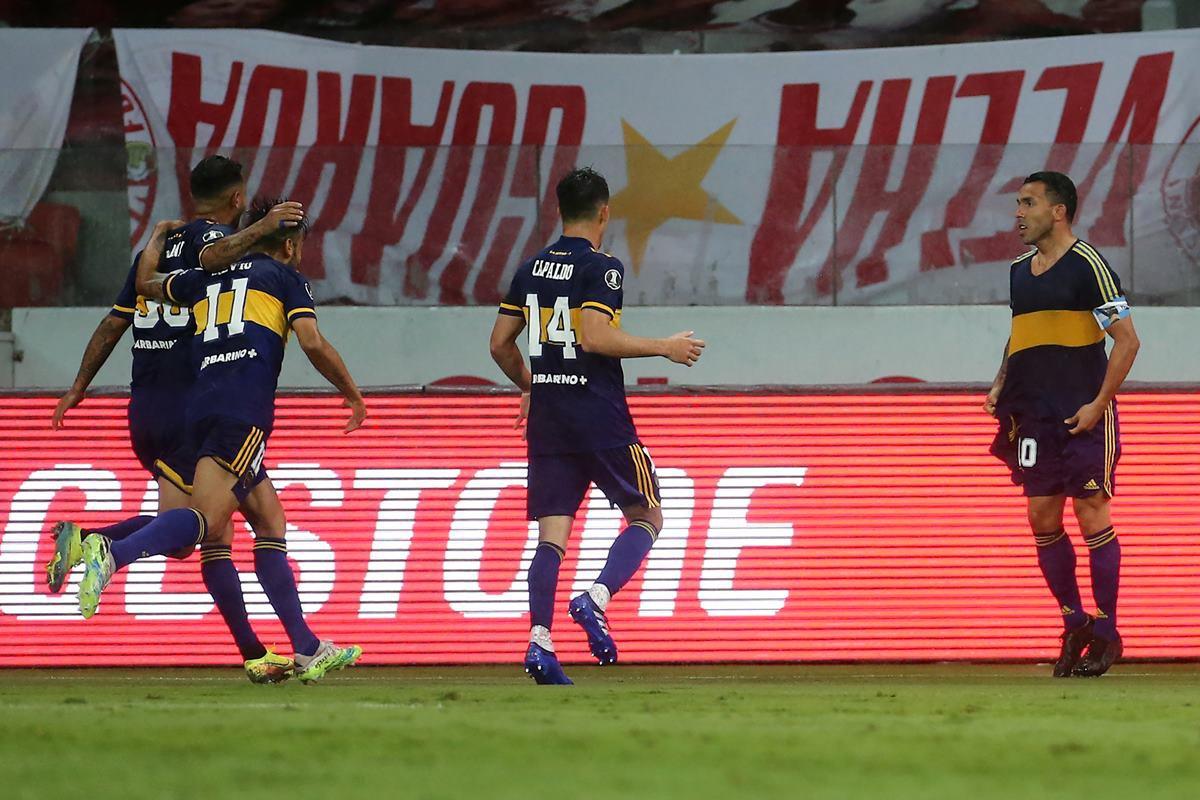 Tévez Boca Juniors
