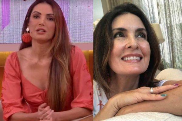 Patricia Poeta e Fátima Bernardes