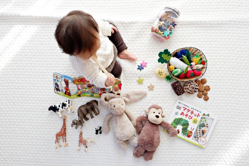 Brinquedo para bebê de 1 ano