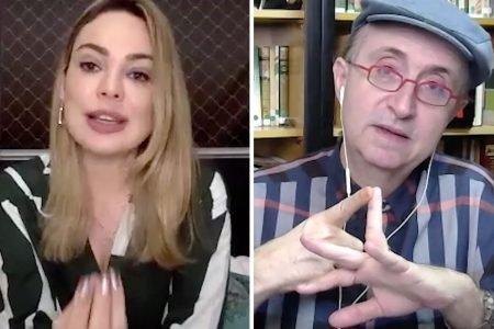 Rachel Sheherazade entrevista Reinaldo Azevedo