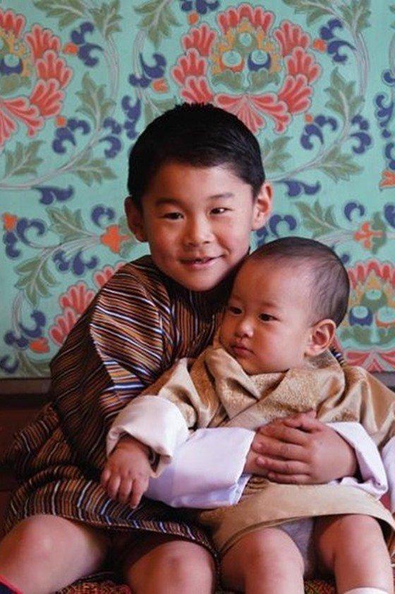 Gyalsey Jigme Namgyel e Gyalsey Ugyen Wangchuck