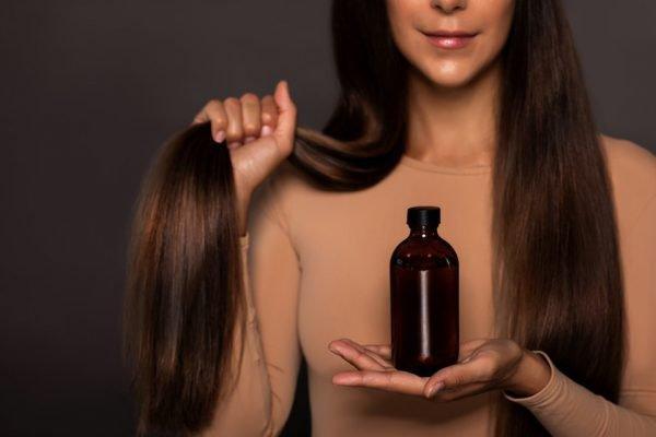óleo para cabelos beleza