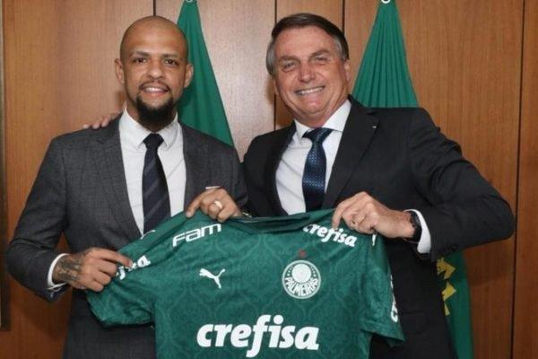 Felipe Melo e Bolsonaro