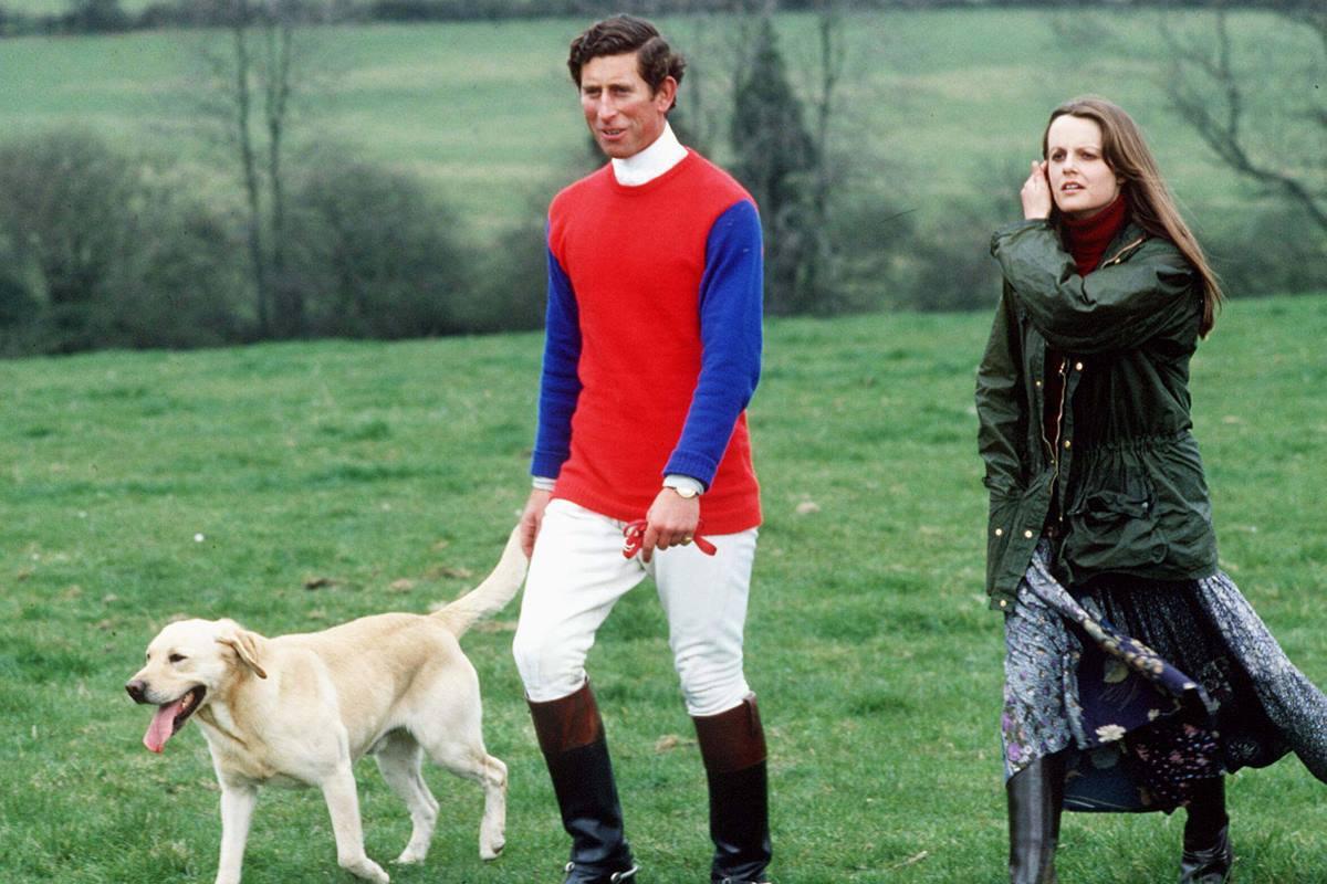 Príncipe Charles e Lady Jane Wellesley