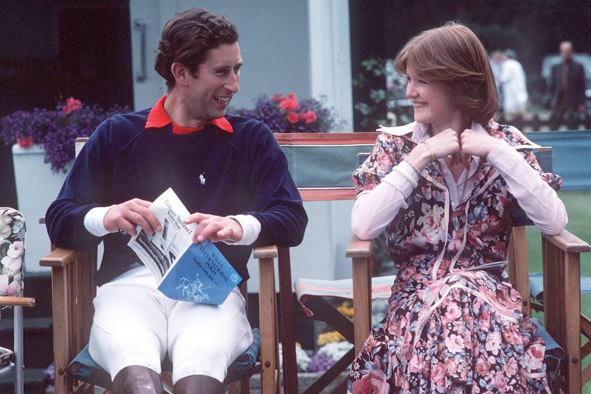 Príncipe Charles e lady Sarah Spencer