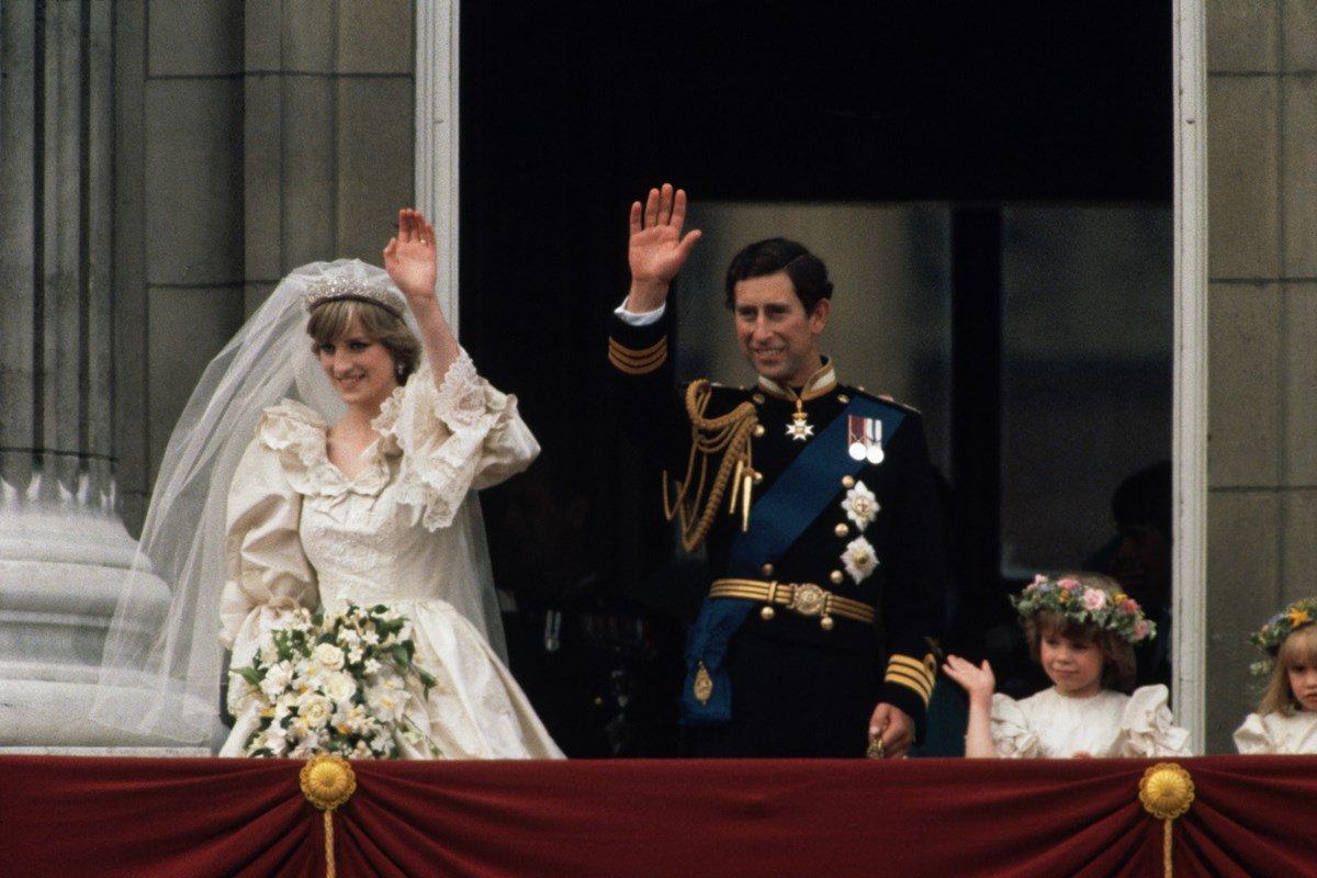 Casamento da princesa Diana e do príncipe Charles