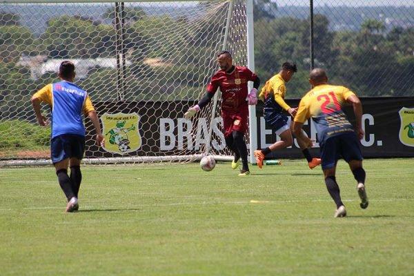 Treino do Brasiliense
