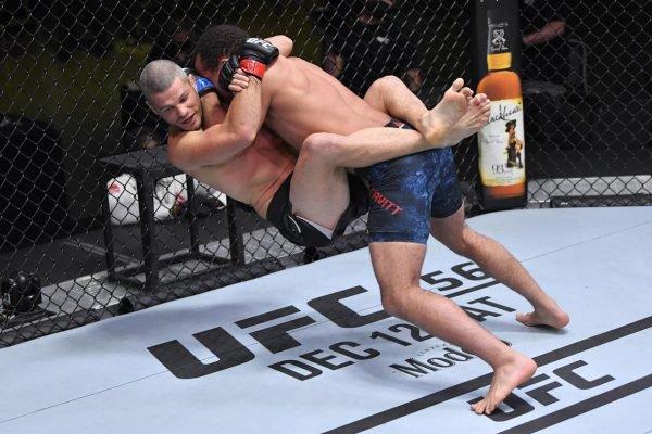Jordan Leavitt no UFC Vegas 16