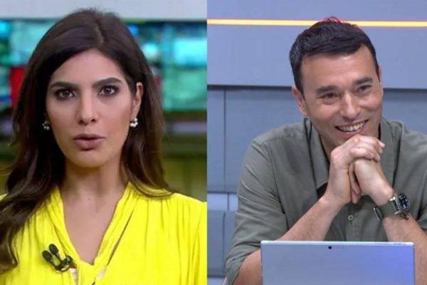 Andréia Sadi e André Rizek