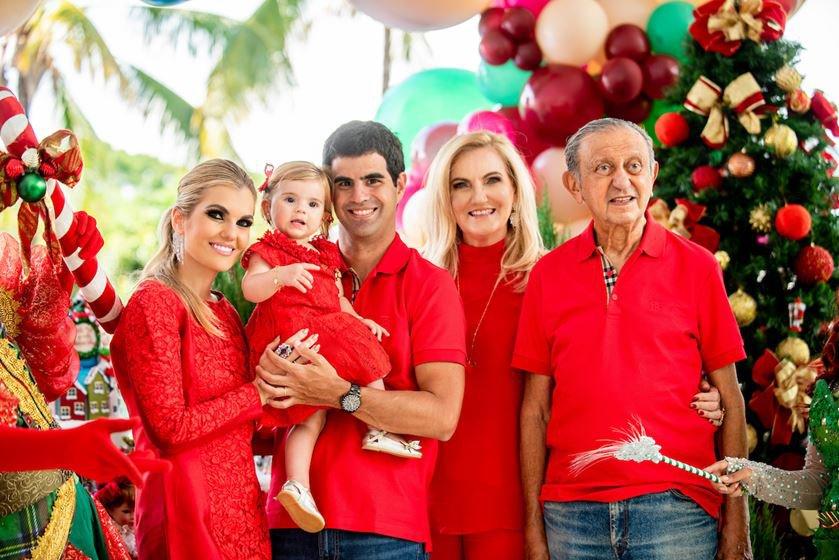 Isadora Campos, Maria Isabel, Joge Paulo Palhares, Ivonice Campos e José Ribamar