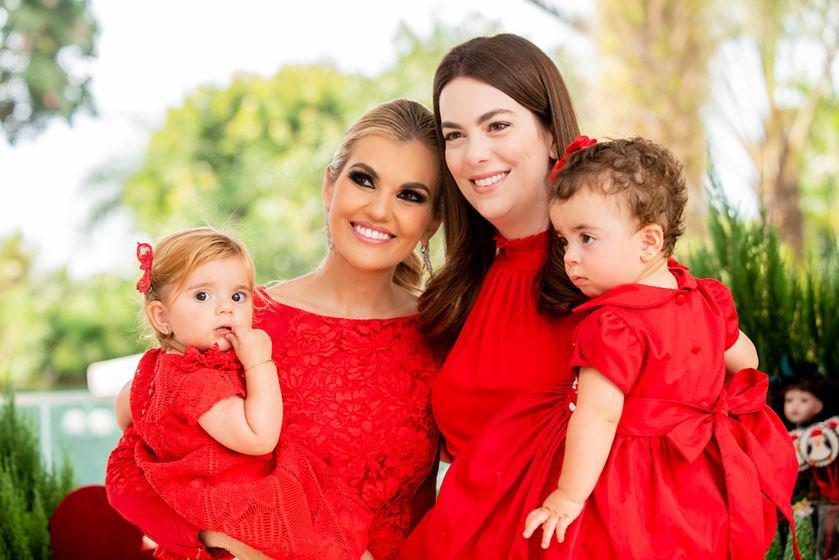 Maria Isabel e Isadora Campos, Luana e Tarsila Sarkis Araújo