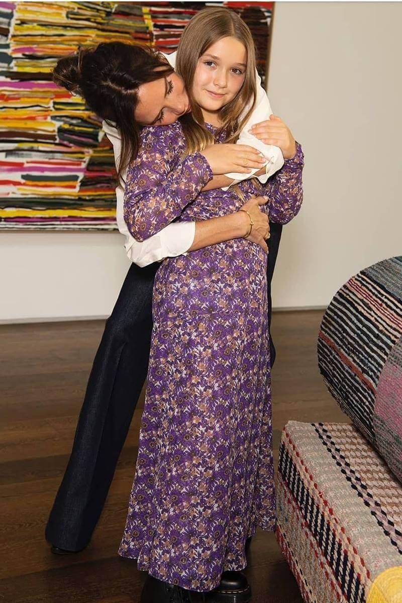 Victoria e Harper Beckham