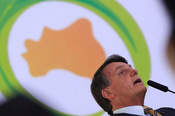 Presidente Jair Bolsonaro durante Cerimônia de Lançamento da Retomada do Turismo