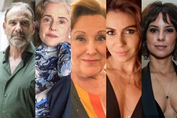 Artistas da Globo com Covid-19