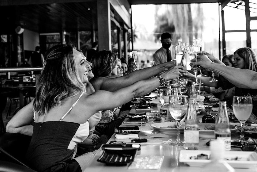 Mercia Crema convida amigas para almoço no Soho