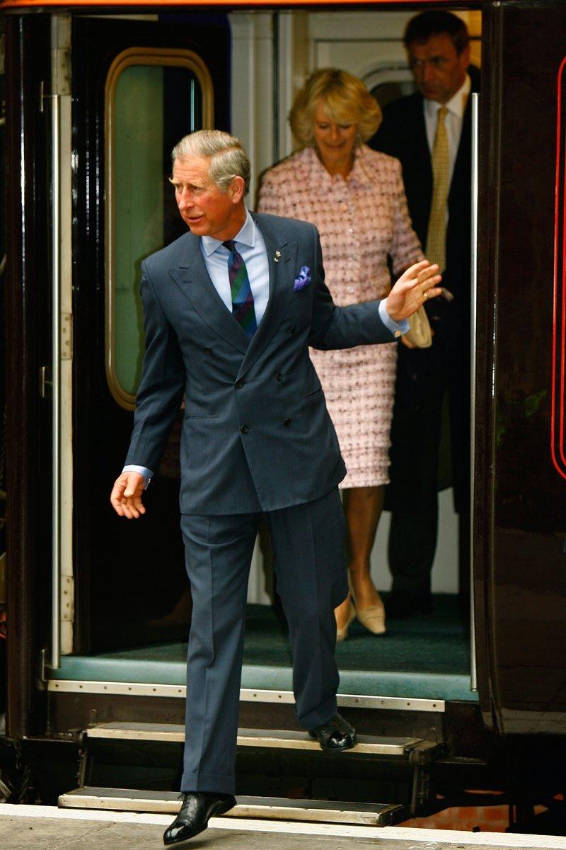 Príncipe Charles e Camilla