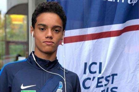 João Mendes, filho de Ronaldinho Gaúcho