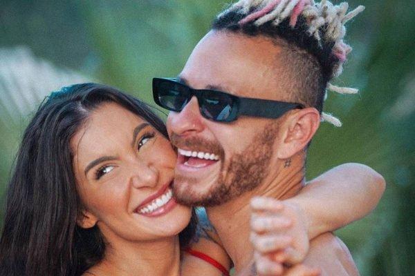 Bianca Andrade e o namorado Fred