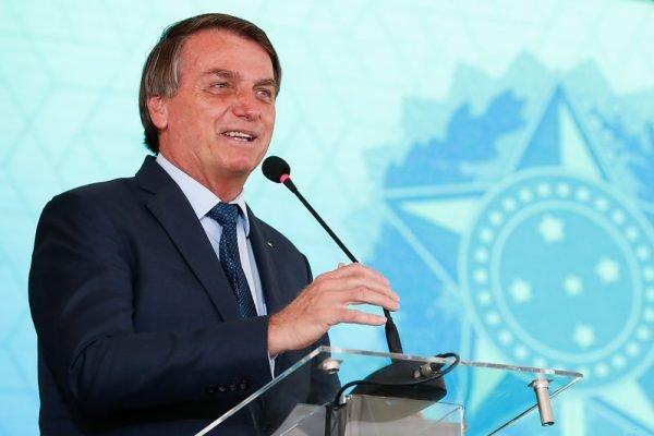 Bolsonaro em cerimônia de fomandos da PF