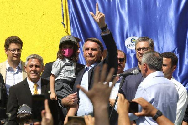 Bolsonaro cumpre agenda em SP