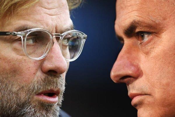 Jürgen Klopp e José Mourinho