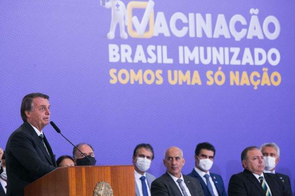 Governo lança Plano Nacional de Operacionalização da Vacina contra a Covid-19
