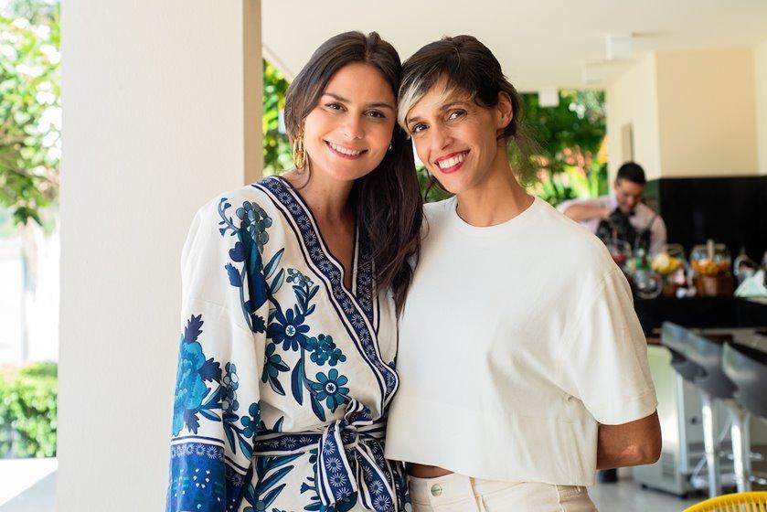 Raquel Jones e Ilca Maria Estevão