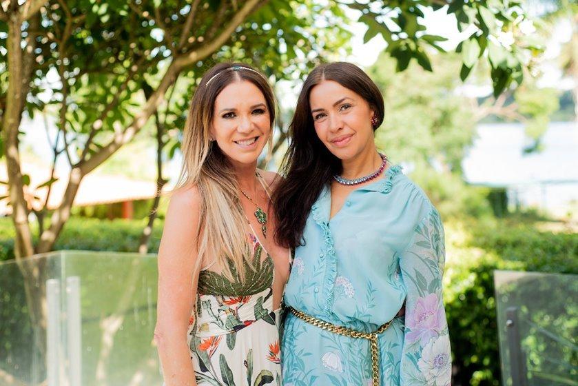 Kika Cardoso e Claudia Meireles