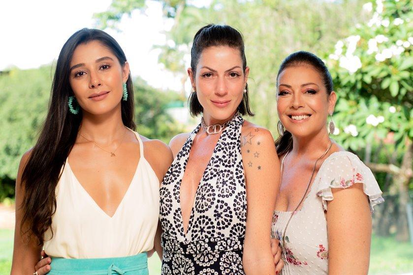 Priscila Sanchez, Lara Torres e Georgia de Luca