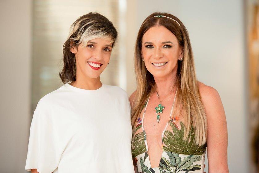 Ilca Maria Estevão e Kika Cardoso