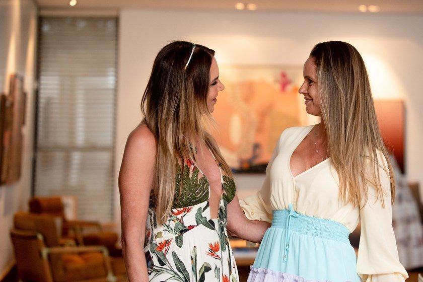 Kika Cardoso e Luciana Almeida