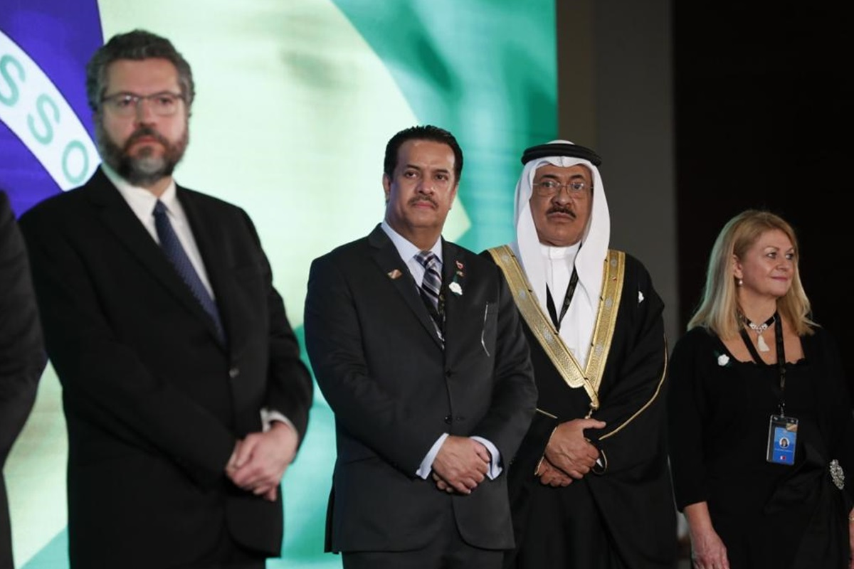 Evento Brasil e Bahrein